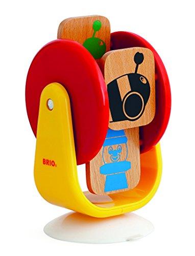 BRIO 30427 - Memo-Spielrad Für Hochstuhl, Motorikspielzeug