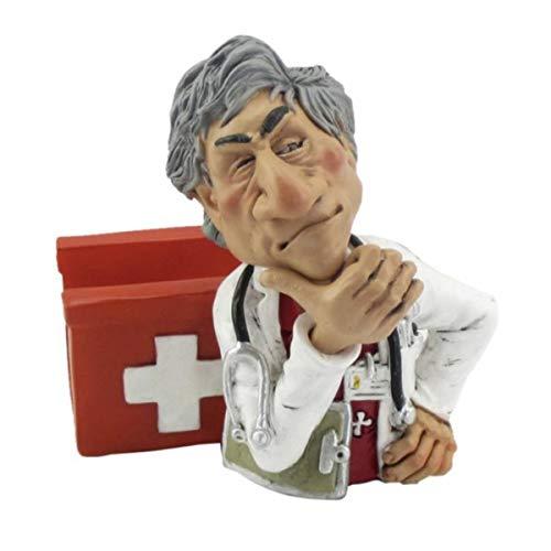 Funny Job Notizzettel-Handyhalter - Arzt mit Verbandskasten