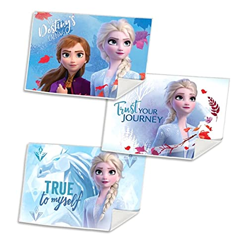 Juego de 3 toallas de invitados, toalla de cara, toalla de mano, toalla de baño, toalla de 40 x 30 cm, microfibra (Frozen Frozen)