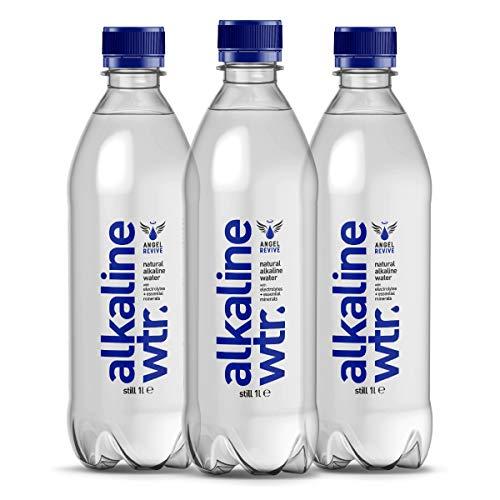 Angel Revive Confezione da 1 litro da 12 litri di acqua naturale alcalina