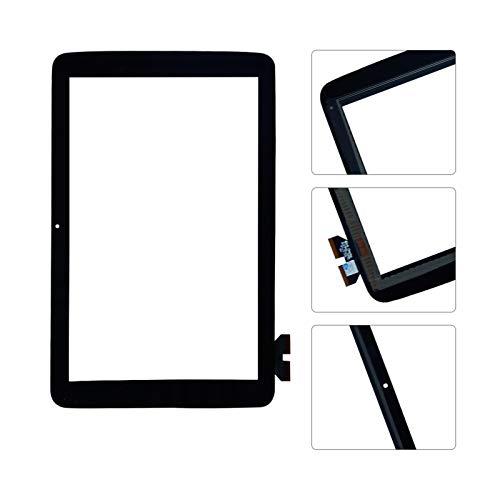 Kit de repuesto de pantalla táctil para LG G Pad 10.1 V700 VK700 digitalizador de cristal de repuesto para panel digitalizador (color: pantalla táctil negra)