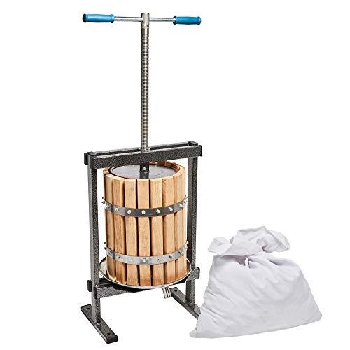 Wollen Tsm 21 Fruitpers, 20 Liter, aus Holz gemacht