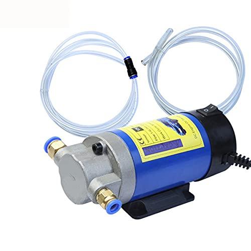 Bombas de chorro de césped de bomba de refuerzo de Bomba de combustible portátil de 1- 4L/ min automóviles, bomba de transferencia de aceite eléctrico 12V 100W for automóviles for automóviles Barco p