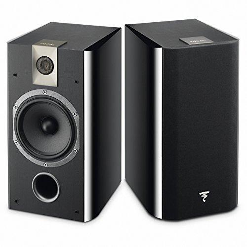 Focal Chorus 706schwarz Lautsprecher–Lautsprecher (XLR, 2.0Kanal, kabelgebunden, 55–28.000Hz, 8Ohm, schwarz)