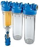 HYDRA tRIO rLH 3/4 'brunnenwasserfilter hauswasserfilteranlage