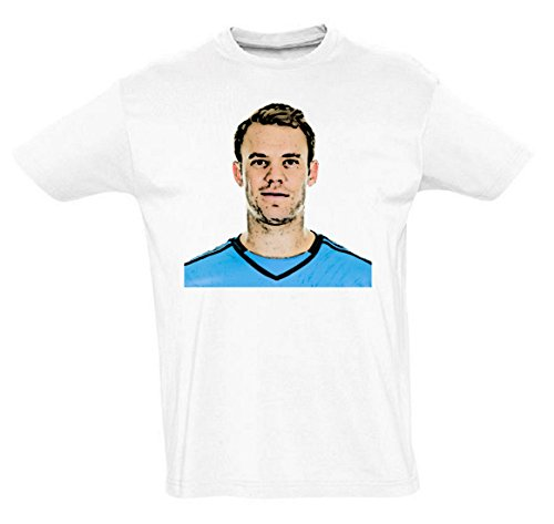 Manuel Neuer Funny Mens & Ladies / Herren & Damen Unisex T-Shirt (L