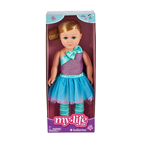 My Life As 18' Poseable Ballerina Doll, Blonde Hair