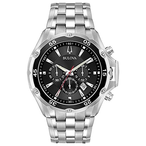 Relógio social Bulova (modelo: 98B333)
