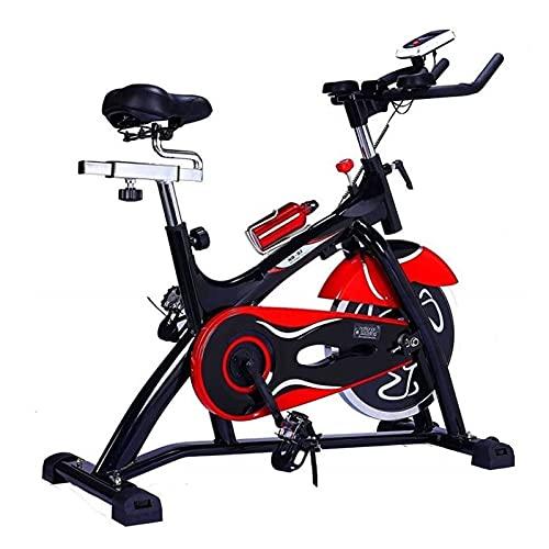 Spinning Bike Bicicleta De Ejercicio Interior con IPAP Soporte, Bicicleta Estacionaria con Volantes Pesados, Gimnasio En Casa Ejercicio Adulto Ejercicio Fitness Bicicleta De Giro
