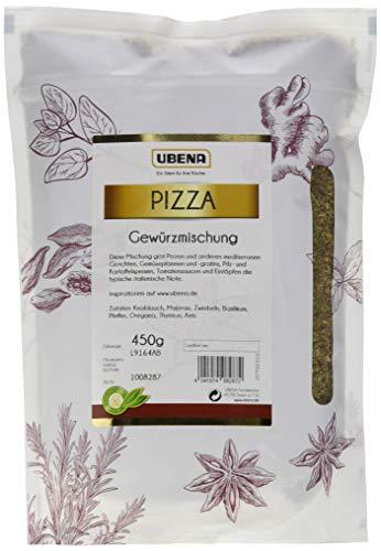 UBENA Pizza Gewürzmischung im wiederverschließbaren Vorratsbeutel, 2er Pack (2 x 450 g)