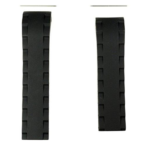 Correa caucho negro reloj Tissot Sea-Touch T026420A 22mm T610027544