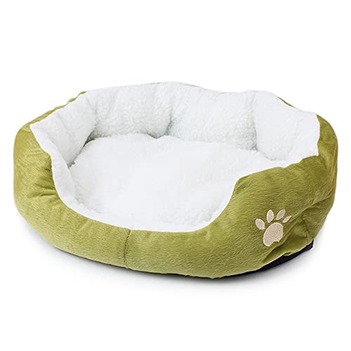 Rsaljldp Alfombra de mascota, extraíble lavable para mascotas, suministros para perros pequeños, casa de perros