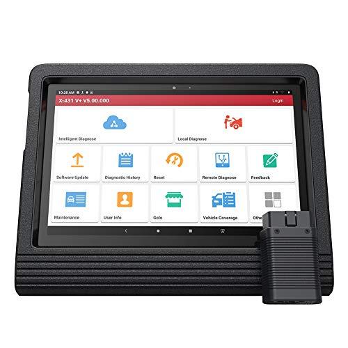 LAUNCH Outil de Diagnostic OBD2 X431 V+ OBDII pour Tous Systèmes, Auto VIN, Code ECU, Test d'activation, 11 Fonctions Spéciales, Wi-FI/Bluetooth (2 Ans de Mise à Jour Gratuite)