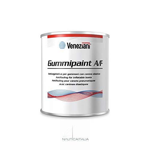Veneziani Yachting Gummipaint A/F Antifouling für Schlauchboote ml 500 - Farbe Weiß