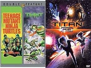 Kids Action Packed Movie Night: Teenage Mutant Ninja Turtles & TMNT & Titan A.E. (3-DVD Bundle adventure action Family Fun Triple feature)