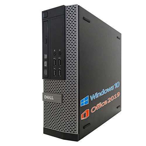 DELL デスクトップPC 9020/wajun XS PCバッグセット/MS Office 2019/Win 10/Core i7-4770/HDMI/WIFI/Bluetooth/DVD-RW/16GB/512GB SSD (整備済み品)