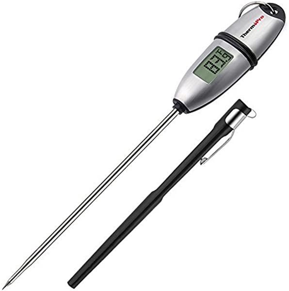 ThermoPro TP 02S 5 Seconds Instant Read Meat Thermometer Digital Cooking Food Thermometer With Long Probe For Grill Candy Kitchen BBQ Smoker