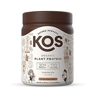 KOS Organic Plant Based Protein Powder, Chocolate