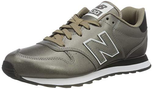 New Balance 500', Zapatillas para Mujer, Gris (Mushroom), 42.5 EU