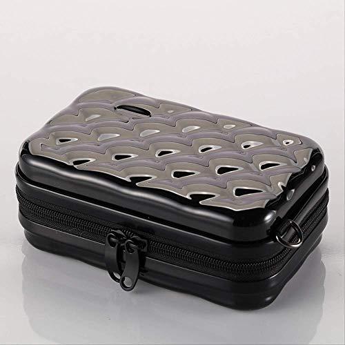 ANLEVO Sac à cosmétiques Voyage Portable Sac à cosmétiques étanche léger Nouveau Mini Stockage carré