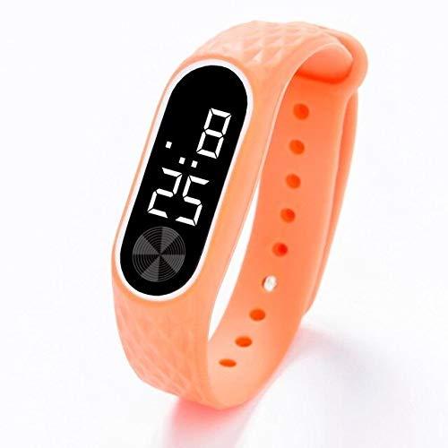 XIAO&WEICHENG Reloj Deportivo Hombres Led Reloj Digital Casual Yoga Silicona Deportes Reloj...