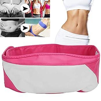 Body Slimming Belt Electric Vibration Slimming Belt Electric Vibration Weight Loss Massage Belly Slimming Fitness Massage Belt Fitness Massager Fat Burning Body Rosa