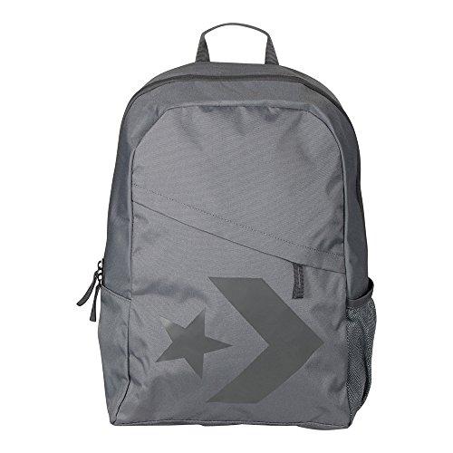 Converse Mochila Backpack para mujer Star Chevron River Rock gris