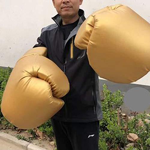 TIDRT Große Boxhandschuhe Übergroße Extra Große Boxhandschuhe Riesige Wildhandschuhe Bandage