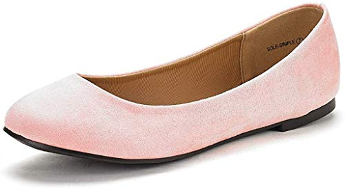 Top 10 best selling list for blush pink flat wedding shoes