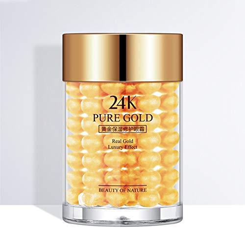 ARTIFUN Crema de Ojos de Oro de 24 k Hidratante Reafirmante de la piel Anti-hinchazón Ojeras Círculo Esencia de Cuidado de los Ojos