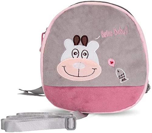 Children backpack Kids Backpack, Toddler Anti-Lost Bag Baby Safety Strap Backpack Toddler Anti-Lost Bag Comfortable Traction School Bag Toddler Anti-Lost Rucksack for Children 2-10 Years Old,big stupi