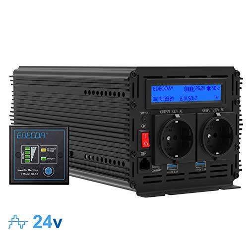 Inversor electrico de 2000 4000w convertidor de voltaje de 24v a 230v...