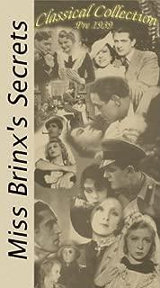 Miss Brinx' Secrets Tajemnice Panny Brinx  VHS