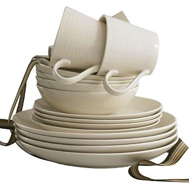 Royal Doulton 8574021736 Gordon Ramsay Maze White 16-Piece Set