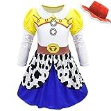 BCOGGFilm Toy Story 4 Jessie - Vestido de disfraz, disfraz de Toy Story, uniforme para disfraz de Halloween, para niña, fiesta de disfraces, XL 6