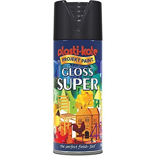 Plasti-kote Super Spray de pintura brillante gama