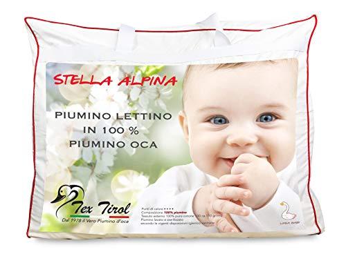 Edredón Tex Tirol © Stella Alpina de cuna 100% plumón de oca 300 g/m², 100 x 135 cm