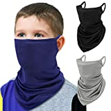 MoKo Kids Bandana Face Mask with Filter Pocket Ear...