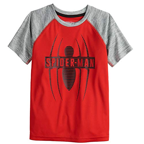 Jumping Beans Boys 4-12 Spider-Man Spider Active Graphic Tee 6 Chinese Red