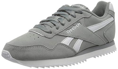 Reebok Royal Glide Rpl, Zapatillas de Running Hombre, Gris (Flint Grey/White 000), 42.5 EU