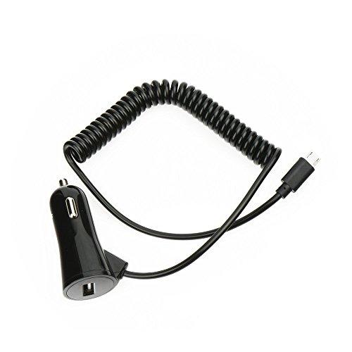 Starberry® autolader in zwart voor Huawei P20 personenauto vrachtwagen autolaadkabel oplader autolader oplaadkabel lader 3A type-C en USB-aansluiting + beeldscherm reinigingspad