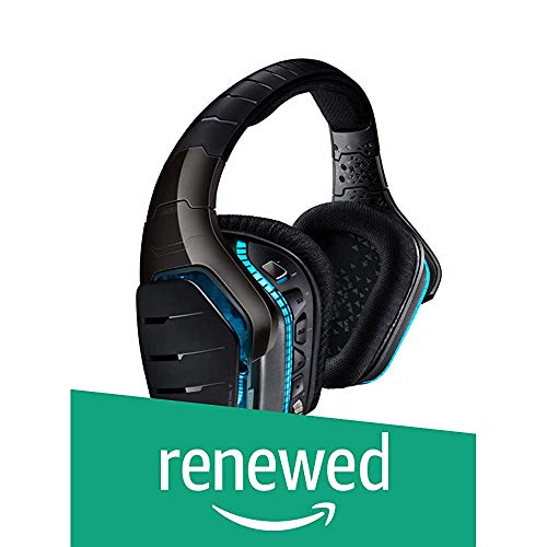 Logitech G633 Artemis Spectrum - RGB 7.1 Dolby and DST Headphone Surround Sound Gaming Headset - PC, PS4, Xbox One, Switch, and Mobile Compatible - Black (Renewed)