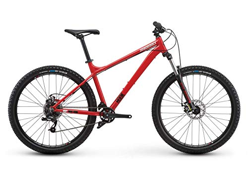 Diamondback Bicycles Hook Hardtail Mountain Bike, Red – Size MD/18, Fits Height Range of...