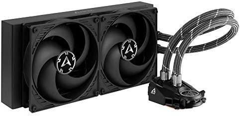 ARCTIC Liquid Freezer II 280 Multi Compatible All in One CPU AIO Water Cooler Compatible with product image