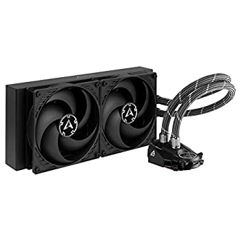 ARCTIC Liquid Freezer II 280 - Multi Compatible All-in-One CPU AIO Water Cooler Compatible with Intel & AMD Efficient PWM Controlled Pump Fan Speed  200-1700 RPM  Controlled via PWM  - Black