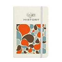 カラフルな水の滴 歴史ノートクラシックジャーナル日記A 5