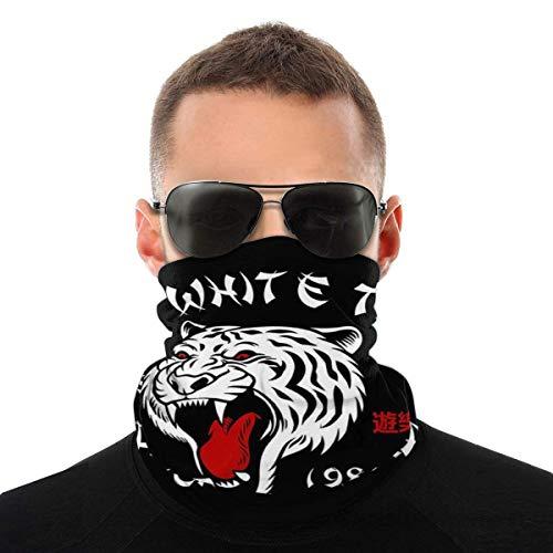 Auld-Shop Die White Tiger Pleasure Palace Vielfalt Kopftuch Gesichtsschutz Magic Headwear Neck Gaiter Gesicht Bandana Schal