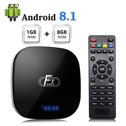 Android 8.1 TV Box, A95X F1 Smart Android 8.1 Box Amlogic
