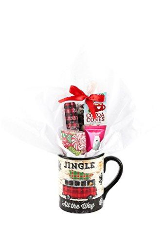 Mardel Jingle All the Way Hot Chocolate Christmas Gift Mug Gift Set - 5 Items