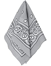 Amscan Bandana, Party Accessory, Silver